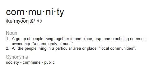 community-definition