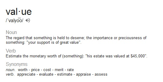 value-definition